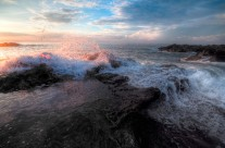Montezuma Beach Volcanic Rocks